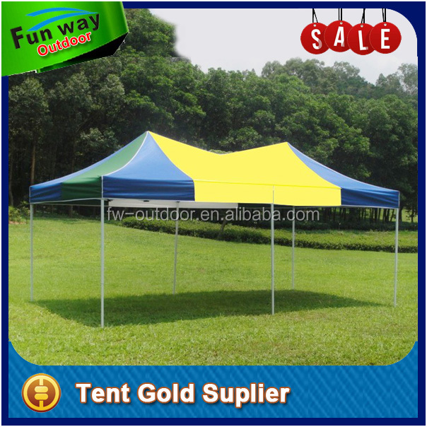 2 Mountains 3x6m large folding shade canopy