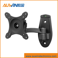 aluminum swivel wall mount with360 degree screen rotation VESA 100x100 tv mounting bracket