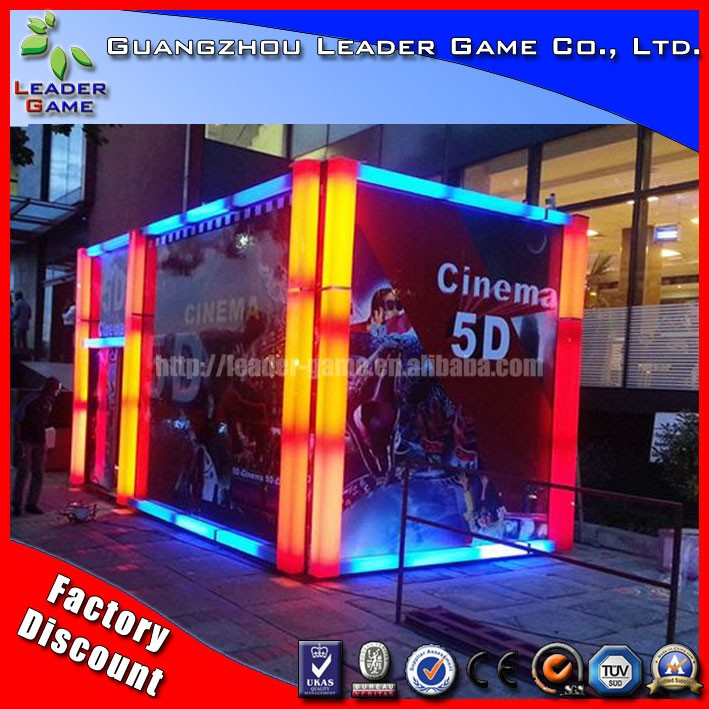 2016 china mobile 5D Cinema with 5 D Cinema Simulator For Sale