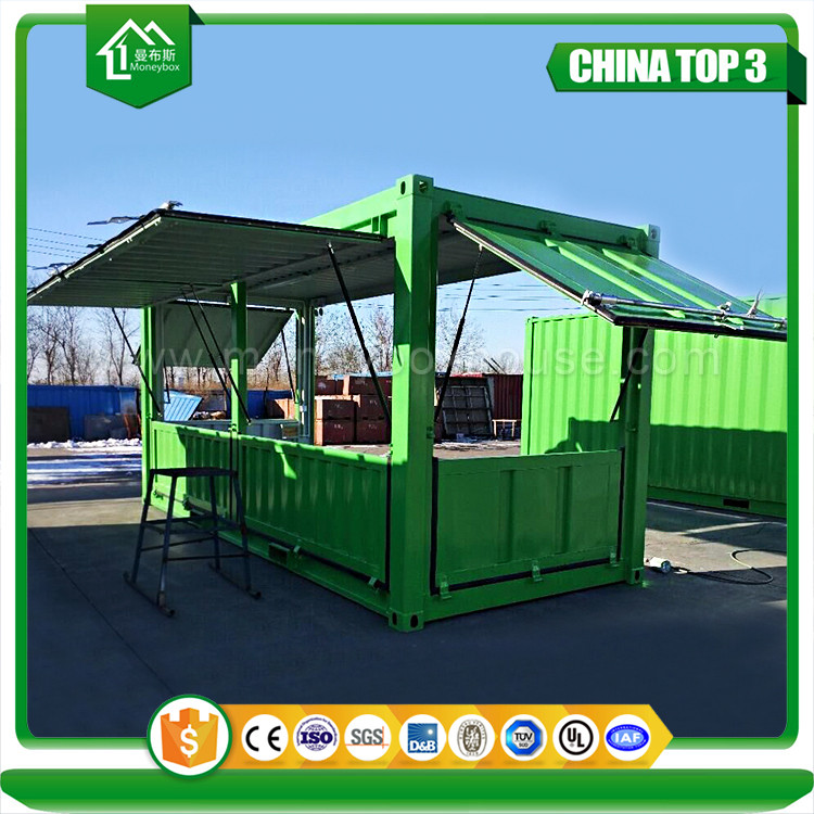 container cafe shop design, container fast food house
