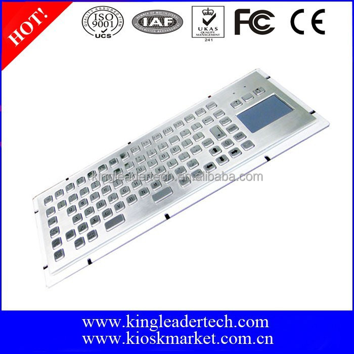 Function Keys And Touchpad Metal Computer Keyboards