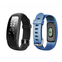 2018 id107 plus smart band heart rate monitor/Activity Tracker/Fitness Health Smartwatch