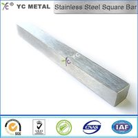 Stainless Steel Square Bar 316 Matte Finish Bar ASTM A276 -YC Metal