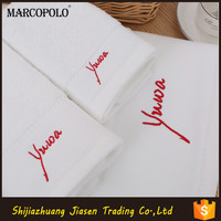 Wholesale Cheap Hotel Supplies Custom embroidery Cotton Hand Towels