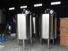 Stainless steel chemical/hydrogen storage tank