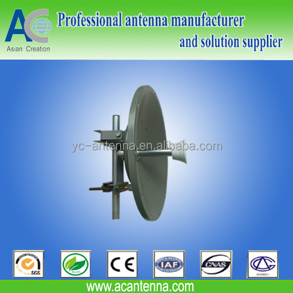 0.9m dish MIMO wireless antenna parabolic long range 20km