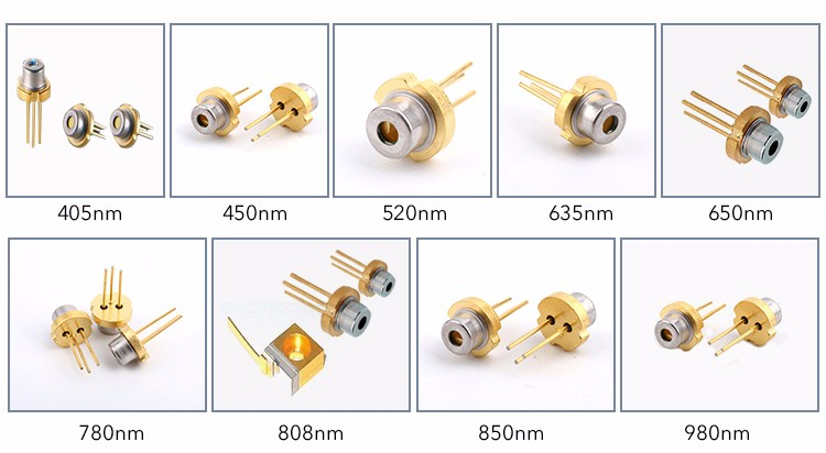 TO18 IR Laser Diode Infrared Laser diode 808nm 300mw for Money detect