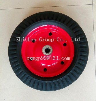 "16"" Solid Rubber Wheel"