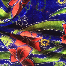 2017 Print fabric Korean Velvet