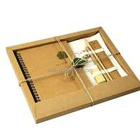 Craft Paper Packaging Fine Stationery Items