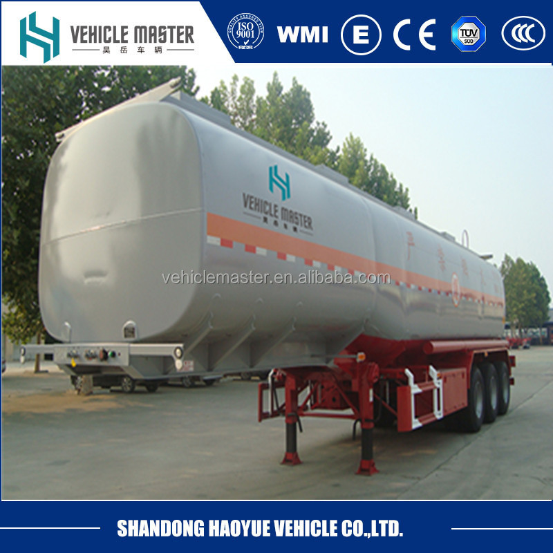 crude oil/diesel/petrol tanker semi trailer trucks, stainless tanker trailer with free spare parts