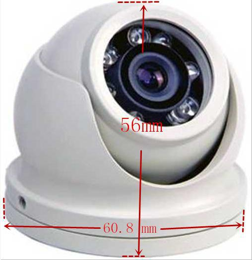 Mini 720P hot selling login Metal HD Dome camera ip surveillance camera with 2.8mm Lens