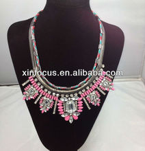 2014 new style chunky statement necklaces fashion necklace jewelry