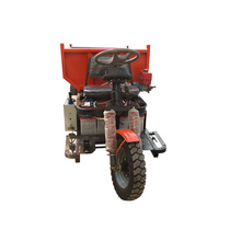 1.5ton loading capacity mini diesel tricyclehree wheels dump tricycle/small truck for mining