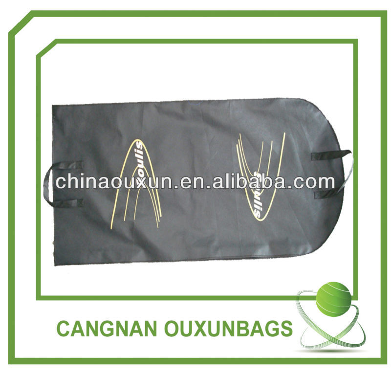 Stronger non woven suit cover garment bag