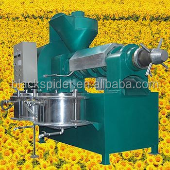 Scew oil press 6YL-120 oil press machine, 200-300kg/h soybean/ peanut/sunflower/cotton