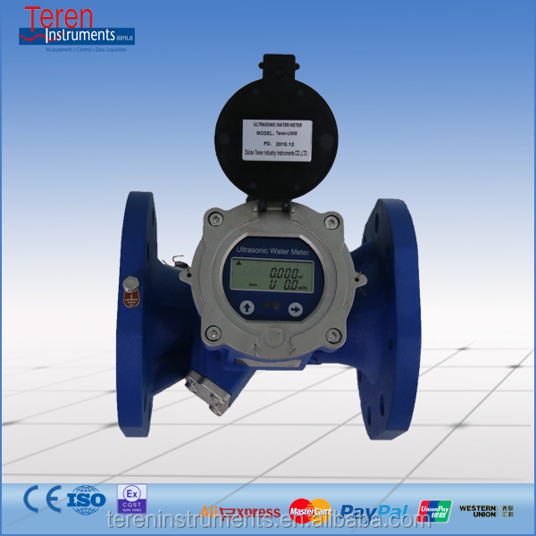 Digital flange connection ce water meter