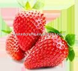 Specialty Manufacturer Artificial faux fake fruit strawberry