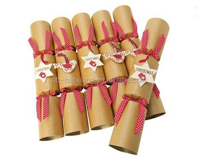 Christmas day candy cracker/handmade gift/party decorations