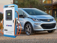 YINHE SAE J1772 CCS and CHAdeMO dual-protocol 75KW EV DC Fast charging point