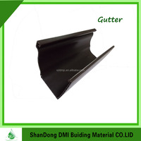 Color Aluminum Rain Gutters for Roof System