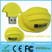yellow safety hard hat usb stick 4gb 8gb 16gb
