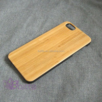 top sale high quality bamboo wooden phone case for iphone