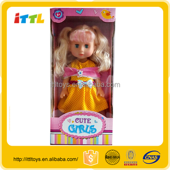 non-toxic 12 inch singing and blinking baby dolls vinyl baby dolls small