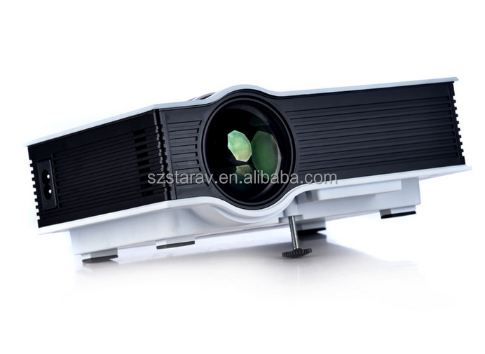 Cheap mini projector led video projektor uc40 portable for Cheap mini portable projector