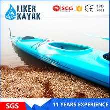 LIKER 5.5m PE roto mold kayak boat with 16 year UV protected
