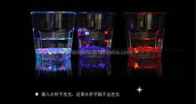 Special hot-sale goblet bar decoration led flashing cup