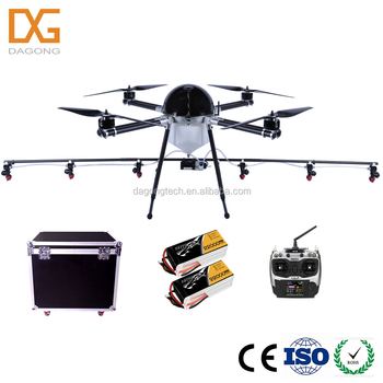 10L payload remote control agricultural sprayer drone uav