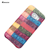 Colorful Phone Case PU Leather Back Cover for iPhone 7