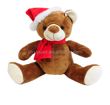 Stuffed cheap kids christmas teddy bear stuffed animals