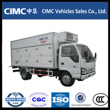 factory price mini refrigerated truck freezer cargo van