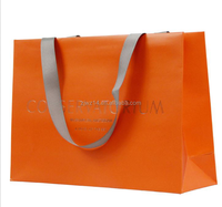 2015 fashion xmas paper gift bags/ paper bags with handle/ roast chicken bag