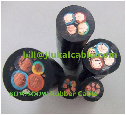 So Cord Listed 3 4 5 Conductor So Sow Cable Flexible Cored: S So Sow Soow Cable And Wire