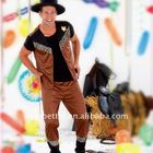 ADULT COWBOY COSTUME SET/carnival costume set/Festival & Party costumes supplies