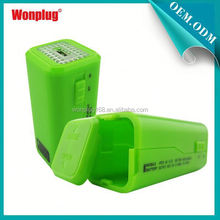 2014 newest designed top sales AA batteries power bank hippo charger