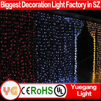 companies looking for distributor led color changing curtain light cheap led color changing curtain light made in china
