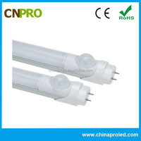 CE ROHS PIR Motion Sensor Cheap T8 110v/220v LED Tube Lighting for Car Parking Lots 3 Years warranty