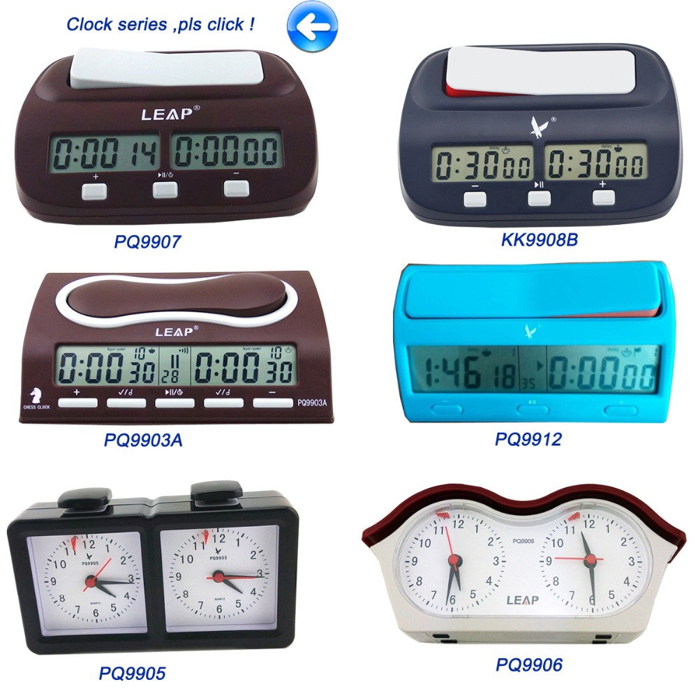 Manual timer digital chess timer for chess game