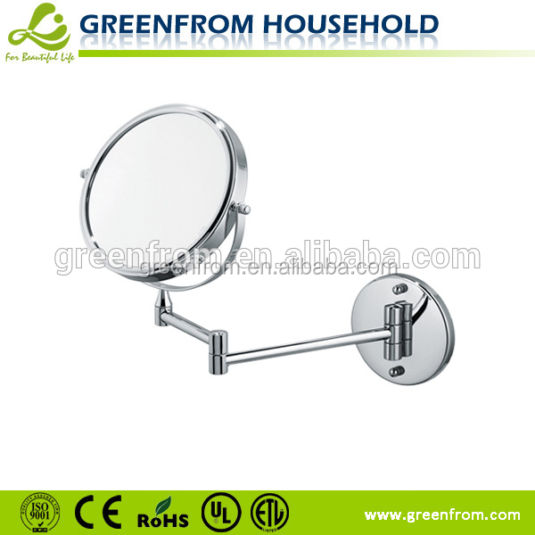 Highly Reflective Aluminium Mirror concave vanity glass mirror