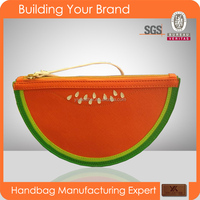 Hami melon-2015 Newest wholesale designer lady clutch bag,cute handbag sweet