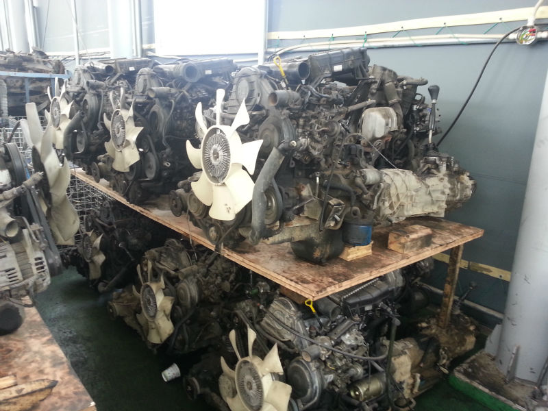 Sportage engine