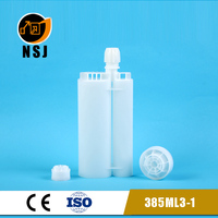 385ml 3:1 epoxy cartridge for glue bottle