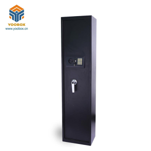 YOOBOX Biometric Gun Vault Security Cabinet Safes With Handle, Electronic Fingerprint Lock