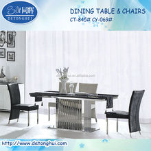 marble chinese dining table CT845