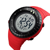 Newest design skmei waterproof digital watch manual for men
