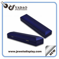LED plastic jewelry & cosmetic storage display boxes with rubber finish
